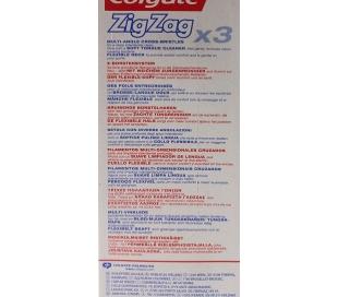 CEPILLO DENTAL ZIGZAG COLGATE 2 UDS.