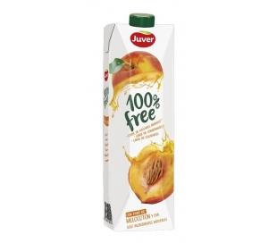 ZUMO 100% FREE MELOCOTON Y UVA JUVER 1 L.