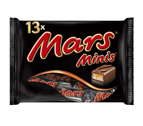 CHOCOLATE MINI MARS 170 GRS.