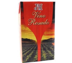VINO ROSADO CIUDAD REAL J&M BRIK 1 L.