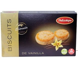DULCE BISCUITS VAINILLA DULCESTEPA 100 GRS.