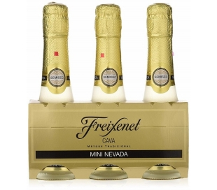 CAVA SEMI-SECO, CARTA NEVADA FREIXENET PACK 3X200 ML.