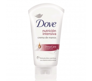 CREMA DE MANOS NUTRICION INTENSIVA DOVE 75 ML.