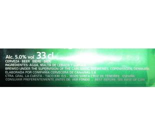 CERVEZA PREMIUM LAGER CARLSBERG LATA 33 CL.