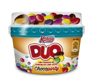 POSTRE DUO CHOCOPARTY KALISE 150 GRS.