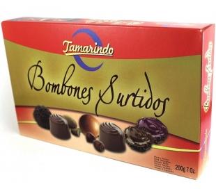 BOMBONES SURTIDOS CAJA TAMARINDO 200 GR.