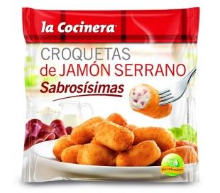 CROQUETAS JAMON LA COCINERA 500 GR.