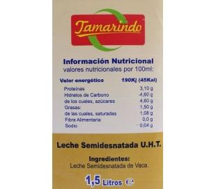 LECHE HOSTELERIA TAMARINDO 1,5 L.