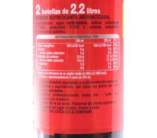 COCA-COLA 2X2L. +
