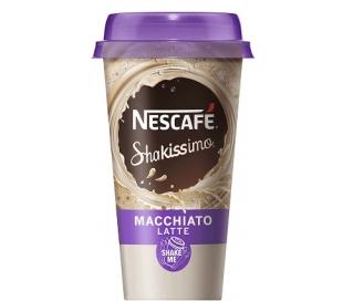 BEBIDA DE CAFE MACCHIATO LATTE NESCAFE SHAKISSIMO 190 ML.