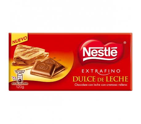 CHOCOLATE DULCE LECHE NESTLE 120 GR.