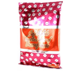 CAFE SOLUBLE DESCAFEINADO TAMARINDO 250 GR.