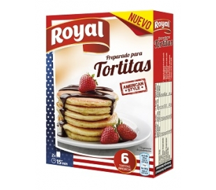 PREPARADO PARA TORTITAS ROYAL PACK 2X60 GRS.