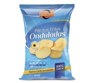 PAPAS FRITAS ONDULADAS TAMARINDO 160 GR.