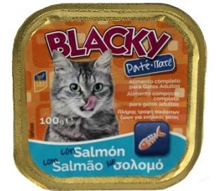 pate-salmon-gato-blacky-100-grs