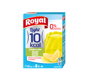 GELATINA LIMON LIGHT ROYAL 31 GRS.
