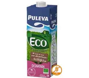 LECHE DESNATADA ECOLOGICA PULEVA 1 L.