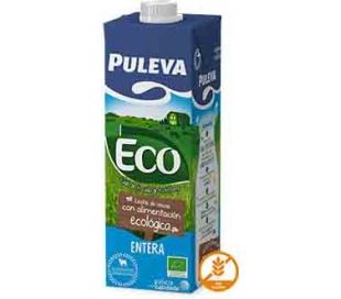 LECHE ENTERA ECOLOGICA PULEVA 1 L.