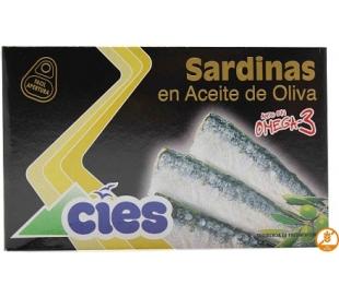 SARDINAS EN ACEITE DE OLIVA CIES 84 GR.