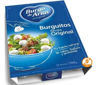 QUESO BURGUITOS ORIGINAL BURGO ARIAS PACK 24X4,5 GR