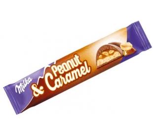 CHOCOLATE CARAMEL PEANUT MILKA 37 GRS.