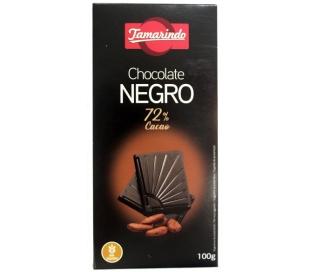 CHOCOLATE NEGRO 72 TAMARINDO 100 GRS.