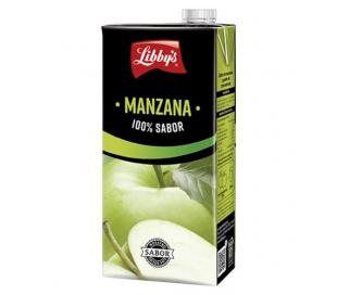 ZUMO MANZANA LIBBYS 1 L.