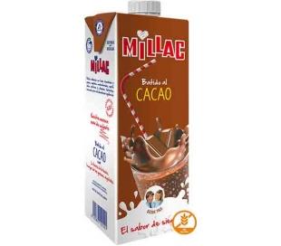 BATIDO DE LECHE CACAO MILLAC 1 L.