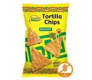 TORTILLA CHIPS NACHOS NAT.SALADA ZANUY 200 GR.
