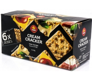GALLETAS CREAM CRACKERS VIEIRA 180 GRS.