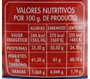 JUDIAS MANTEQUERA LUENGO 500 GR.