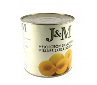 MELOCOTON EN ALMIBAR J&M 2650 GR.