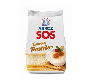 ARROZ ESPECIAL POSTRES SOS 500 GRS.