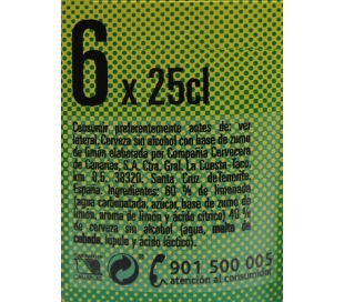 cerveza-limon-sin-alcohol-dorada-pack-6x250-ml