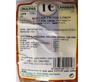 BOLLO FRITO LIMON MOYA 150 GRS.