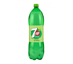 REFRESCO LIMA-LIMON FREE SEVEN-UP 2 L.