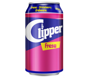 REFRESCO FRESA CLIPPER 330 ML.