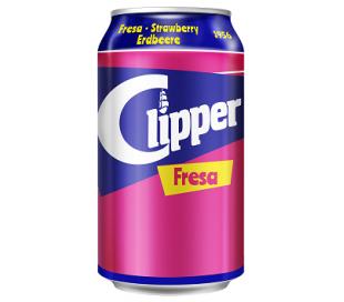 REFRESCO FRESA CLIPPER 330 ML.