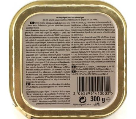 comida-perros-tarrina-buey-pedigree-300-gr
