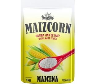 HARINA FINA DE MAIZ, MAIZCORN MAICENA 400 GRS.