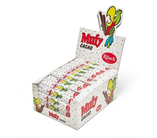 BARQUILLOS CHOCOLATE ENVUELTO MUFY PACK 70X20 GRS.