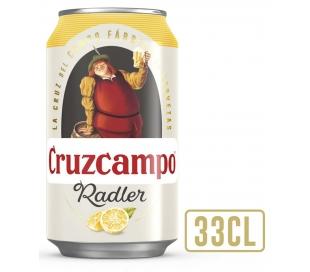 CERVEZA RADLER LIMON CRUZCAMPO LATA 33 CL.