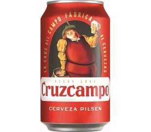 CERVEZA PILSEN CRUZCAMPO LATA 33 CL.