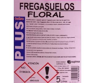 MULTIUSOS FREGASUELO FLORAL SUPINSA 5L.