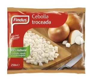 CEBOLLA TROCEADA FINDUS 250 GR.
