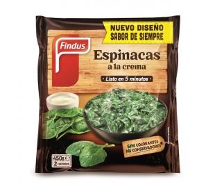 ESPINACA CREMA FINDUS 450 GR.