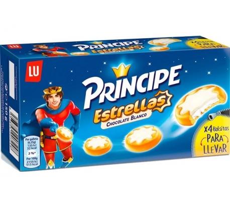 GALLETAS ESTRELLA CHOCOLATE BLANCO PRINCIPE 150 GRS.