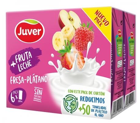 zumoleche-fresa-platano-juver-pack-6x200-ml