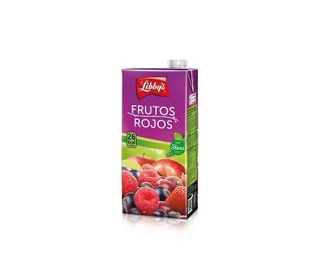 ZUMO FRUTOS ROJOS LIBBYS 1 L.