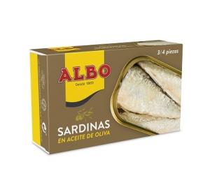 SARDINAS ACEITE OLIVA ALBO 85 GR.
